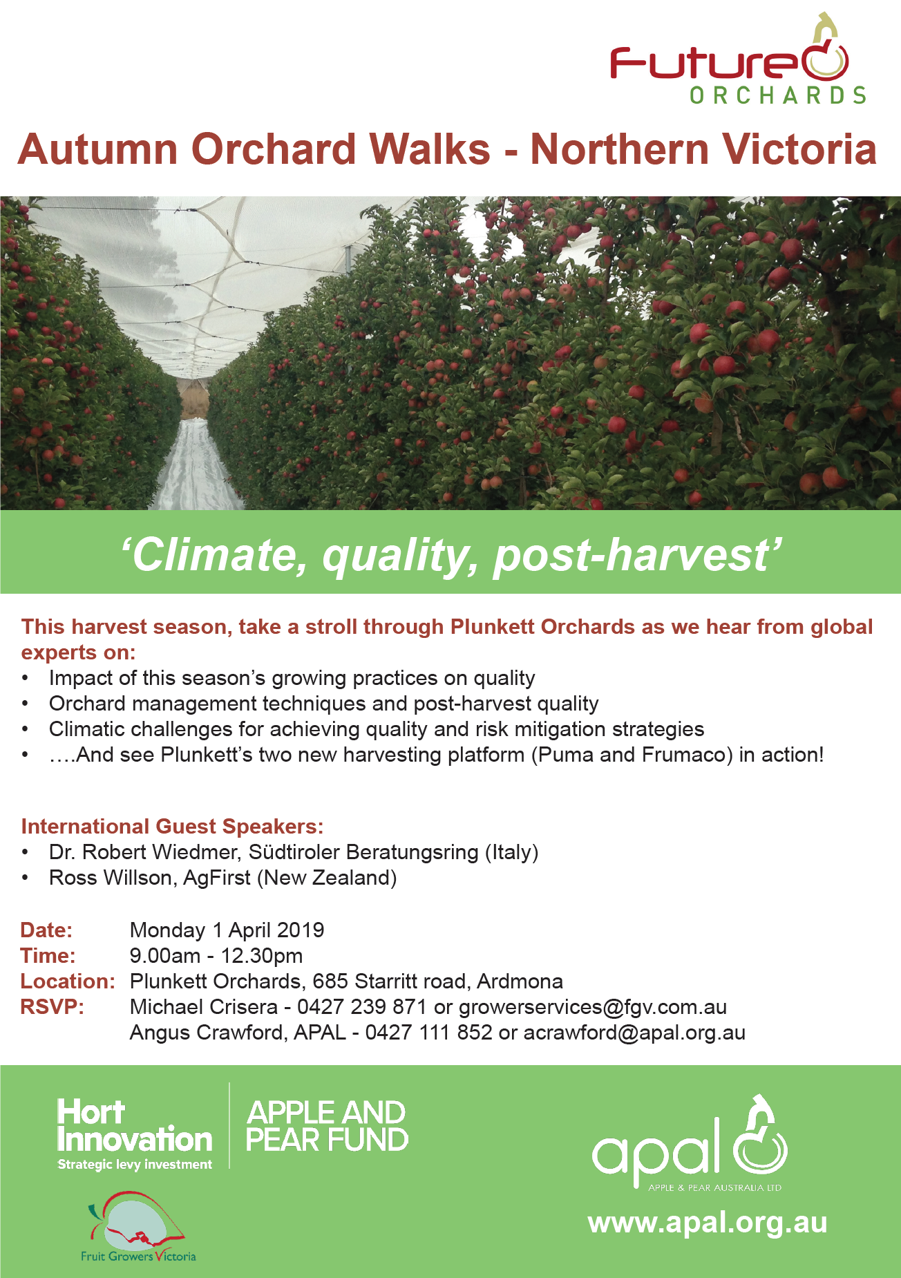 Future Orchards Autumn Orchard Walks Northern Vic