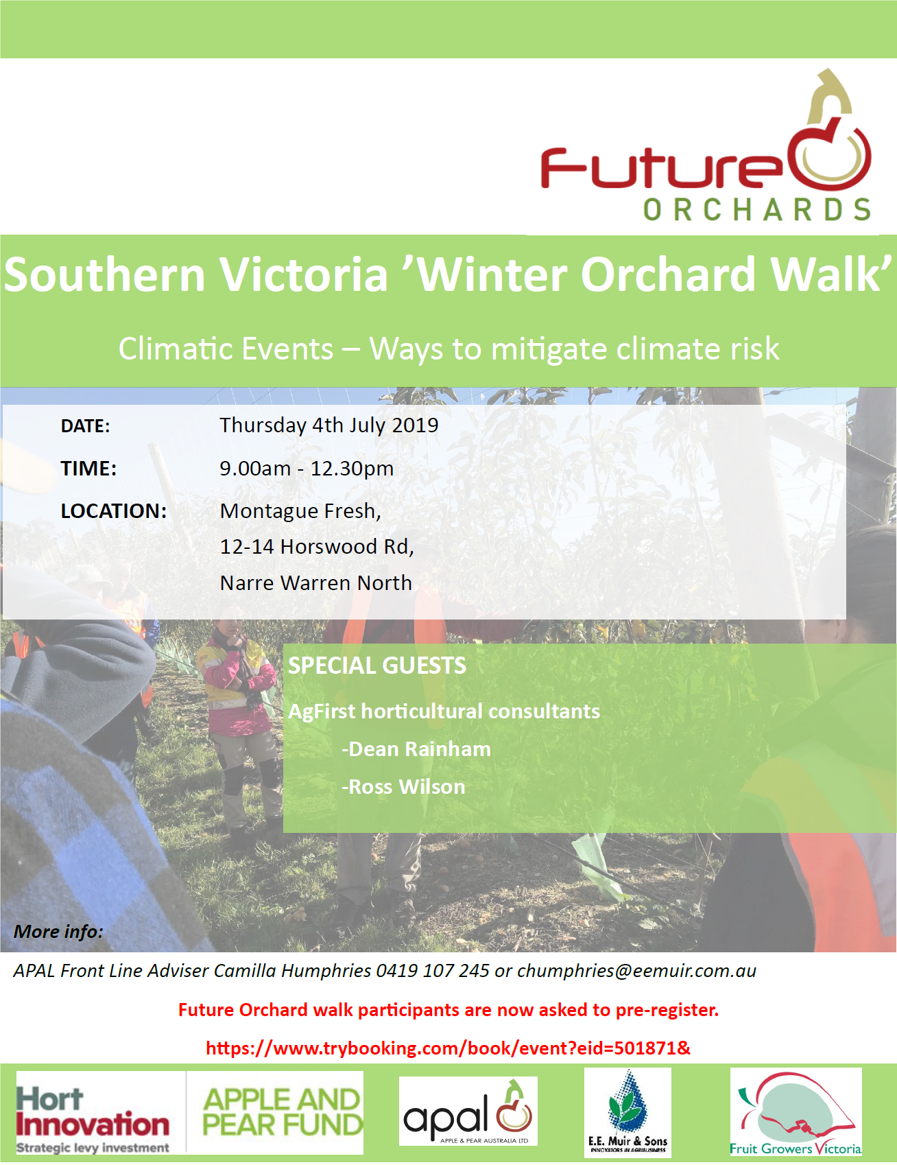 Southern Vic Future Orchard Walk Brochure Montague Fresh 4th July 2019